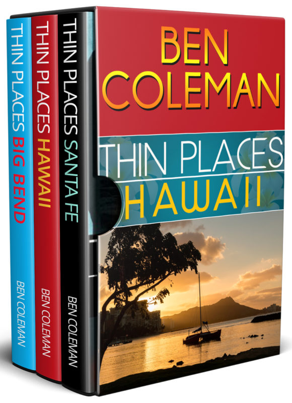 Thin Places Box Set: Books 1-3 (A Romantic Suspense Series… with a touch of Fantasy)